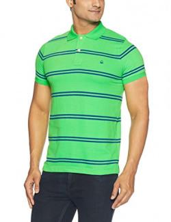 United Colors of Benetton Men's Polo (8903239973126_15P3AJ4J5506I_Small_Green)