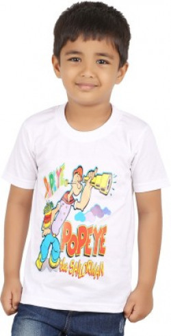 PNR Exports Boys Printed T Shirt @ 40% off