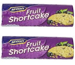 McVitie's Fruit Shortcake, 200g (Pack of 2)