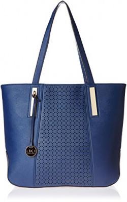 Diana Korr Women's Shoulder Bag Handbag (Blue) (DK40HDBLU)