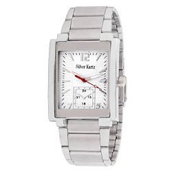 Silver Kartz Analogue White Dial Men's Watch -WTM-037