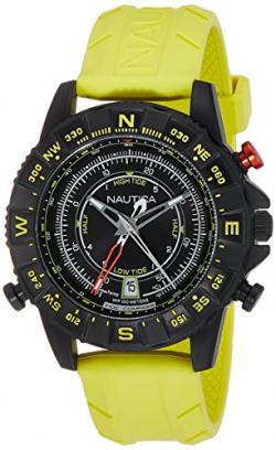 Nautica Sports Analog Black Dial Men's Watch - NAI21000G