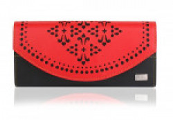 K London Red And Black Women's Wallet