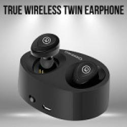 Chkokko Resonance Twins True Wireless Bluetooth Earphones with Mic (Black)