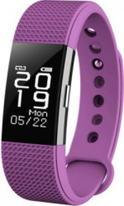 Bingo F2 Fitness Tracker Heart Rate Monitor Touch Screen Activity Pedometer with Waterproof Smart Wristband and Sleep Monitor Smart Bracelet for Andorid and IOS(Purple Strap, Size : Standard)