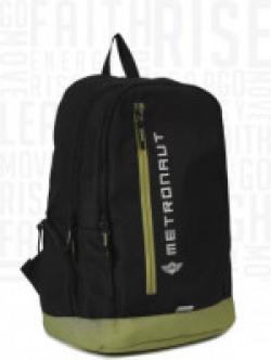Metronaut Streak 16.2 L Backpack(Black, Green)