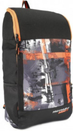 Provogue Sports HI-STORAGE DUFFEL 30 L Backpack(Black, Orange)