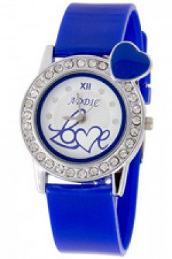 Addic Analogue Hearts-In-Love White Dial Watch For Women And Girls - Love1