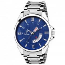 Britton Analogue Blue Dial Charming Men's Watch-BR-GR192-BLU-CH