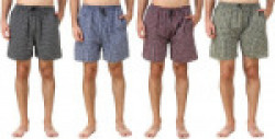 Zoldy Checkered Men Boxer(Pack of 4)