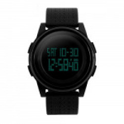 Skmei Digital Black Dial Watch,skm-1206-black