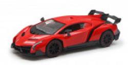 Kinsmart  1: 36 Lamborghini Veneno Die Cast Car with Openable Doors, Multi Color