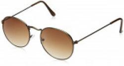 Laurels Royal IV Brown Oval Men Sunglass- LS-RYL-IV-090909