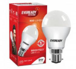 Eveready Base B22 9-Watt LED Bulb (Cool Day White Light)