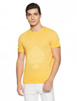 People Men's T-Shirt (8907496202098_P10101101101514_Small_Gold)