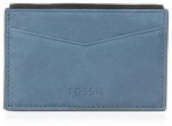 Fossil End of Season Sale Leather Blue Messenger Bag (ML3643962)