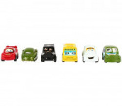 Whole Wealth Pull Back & Go Racing Cars Set-Multi-Colour