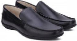 Woodland Leather Loafers For Men(Black)