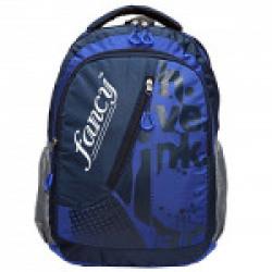 FANCY BLUE LAPTOP BACKPACK M NO.3137