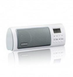 Circle Beaut Portable Fm Radio With Alarm Clock Speaker / Fm Auto Scan & Save Radio Channels / Record Function / Alarm Clock & Time Shoutdown