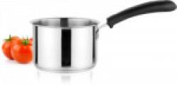 Vagmi SMALL TINNY SAUCE PAN 10 CM FOR TADKA Pan 10 cm diameter(Stainless Steel, Plastic, Induction Bottom)