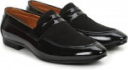 BUWCH Men Formal Party Wear Shoe For Men & Boys Slip On For Men(Black)