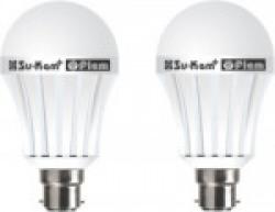 Su-Kam fiem Rechargeable Inverter LED Bulb. Emergency Lights(White)