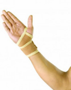 Cheetah Wrist Wrap With Thumb Support (L)