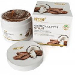 WOW Arabica Coffee No Parabens & Mineral Oil Scrub, 200mL