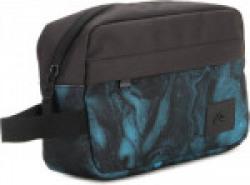 Quiksilver Chamber Travel Toiletry Kit(Black, Blue)