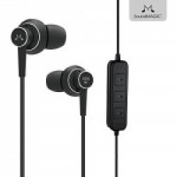 SoundMagic ES20BT Bluetooth Stereo Earphones with Mic (Black)