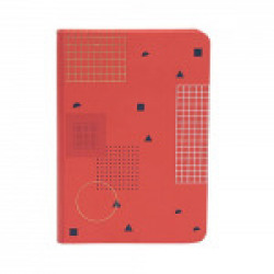 Doodle Coral Bits Notebook Paper Finish, Hard Cover, Ruled, 200 Pages, (7  X4.75 ) Inches Diary