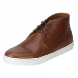 Red Tape Men's Tan Boots - 10 UK/India (44 EU)(RTE0563-10)