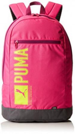 Puma 25 Ltrs Fuchsia Purple Casual Backpack (7339109)