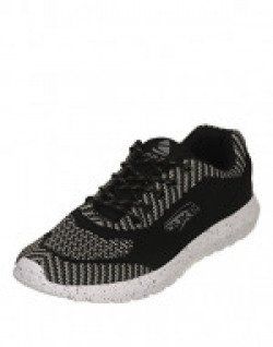 Duke Men's Black Coloured Mesh Sports Shoes 6