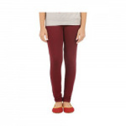 Fashionitz Girls Cotton Solid Leggings