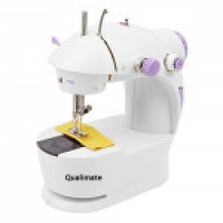 WillsBury Mini Desktop Multi functional Electric sewing machines for home Household Double Stitches Sewing Tools
