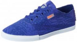 Puma Unisex's Puma Streetsala Graphics Idp Mazarin Blue, Royal Blue, Quarry and Red Blast Sneakers - 7 UK/India (40.5 EU)