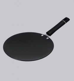 Pristine Aluminium Hard-Anodised Tawa,8.7 Inch