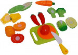 Speoma Vegetable Cutting Role Play Toy Set For Kids