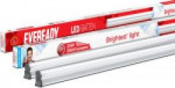Eveready LED Batten 4ft T5 - 20W ( 6000K cool day Light) Straight Linear LED Tube Light(White, Pack of 2)