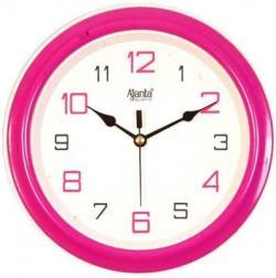 Ajanta Analog 32 cm X 4 cm Wall Clock(Brown, With Glass)