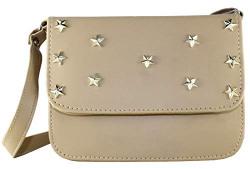 Min 80% off on Fargo Focus PU Leather Women's And Girl's Sling Bag (Cream_FGO-109)