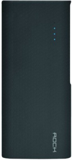 Rock 10000 mAh Power Bank (ITP-105)(Black, Lithium-ion)