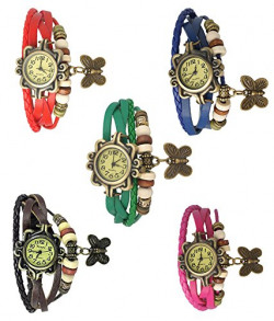 just like Analogue Beige Dial Girl's Watch - VL26(Set Of 5)