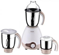 Philips HL-1646/01 600 W Mixer Grinder(White, 3 Jars)
