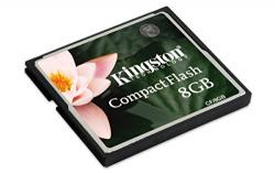 Kingston 8 GB CompactFlash Memory Card CF/8GB