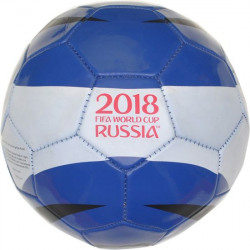 FIFA World Cup Russia Run Football - Size: 5  (Pack of 1, Blue) @ 249 Rs MRP 699