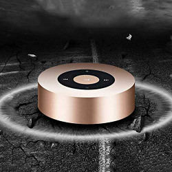PTron Sonor Bluetooth Speaker New Fashionable Wireless Speaker for All Smart Phones (Gold)