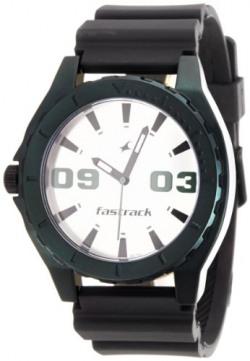 Fastrack OTS Sports Analog White Dial Men's Watch - NE9462AP01J